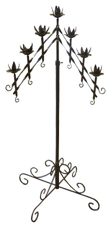 Where to find Candelabra, Black, 7 Branch in Shreveport