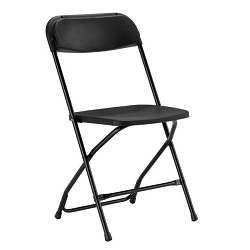 Where to find Chair, Black Folding in Shreveport