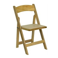 Where to find Chair, Natural Wood w  tan pad in Shreveport