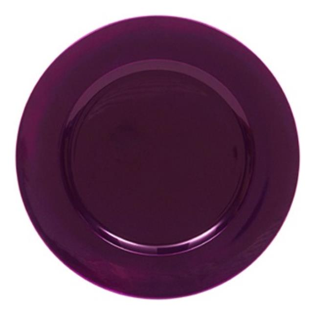 Where to find Plate, Purple Acrylic Charger in Shreveport
