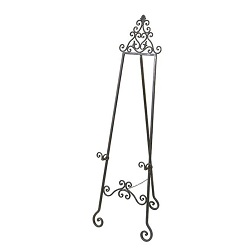 Where to find Easel, Wrought Iron Art Large in Shreveport