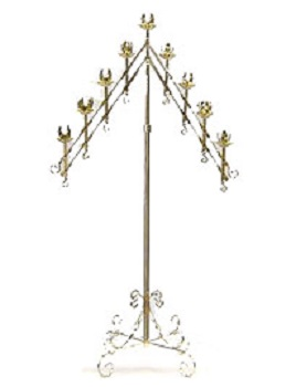 Where to find Candelabra, Gold, 7 Branch in Shreveport