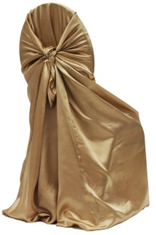 Where to find Satin, Antique Gold - Univ. Chair Cover in Shreveport