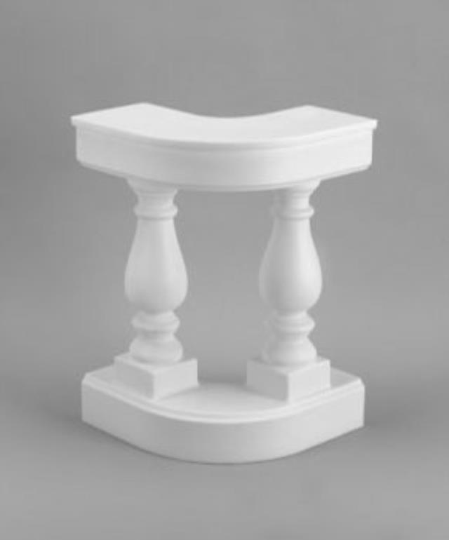 Where to find Balustrade, Curved White  pair in Shreveport