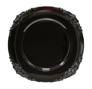 Where to find Plate, Vintage Round - Black Charger in Shreveport