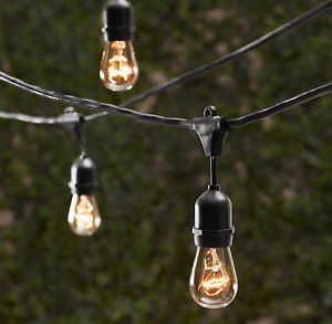 Where to find String Bulb Lighting, Black - per ft. in Shreveport