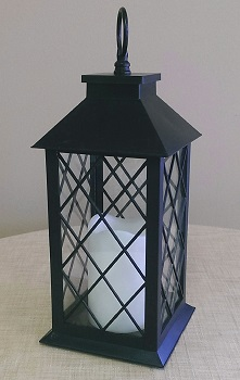 Where to find Lantern, Lattice w  LED candle in Shreveport