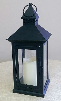 Where to find Lantern, Plain w  LED candle in Shreveport
