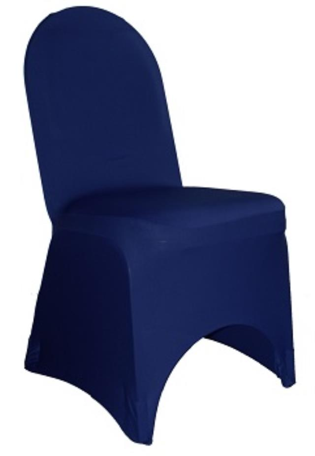 Where to find Spandex, Navy Blue-Banquet Chair Cover in Shreveport