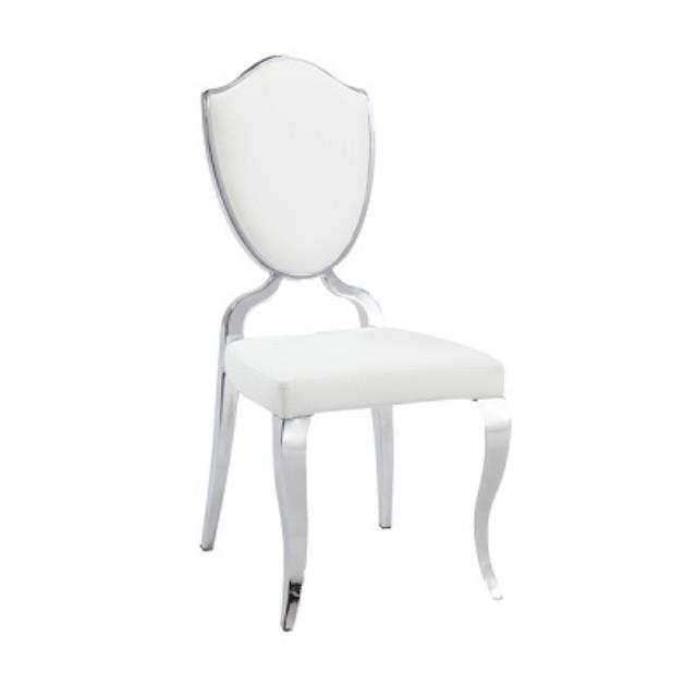 Where to find Chair, Shield Back White  Set of 2 in Shreveport