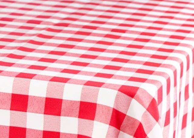 Where to find Polyester, Checkered - Red White in Shreveport