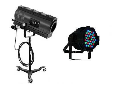 Lighting Equipment Rentals in Bossier City Louisiana, Shreveport, Minden LA, Red Chute LA, Marshall TX, Blanchard LA, Greenwood