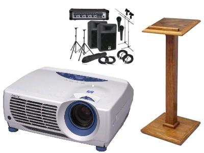 Audio Visual Rentals in Bossier City Louisiana, Shreveport, Minden LA, Red Chute LA, Marshall TX, Blanchard LA, Greenwood